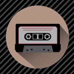 audio, audiotape, cassette, music, record, sound, tape icon