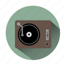 audio, deejay, dj, music, party, turntable, vinyl icon