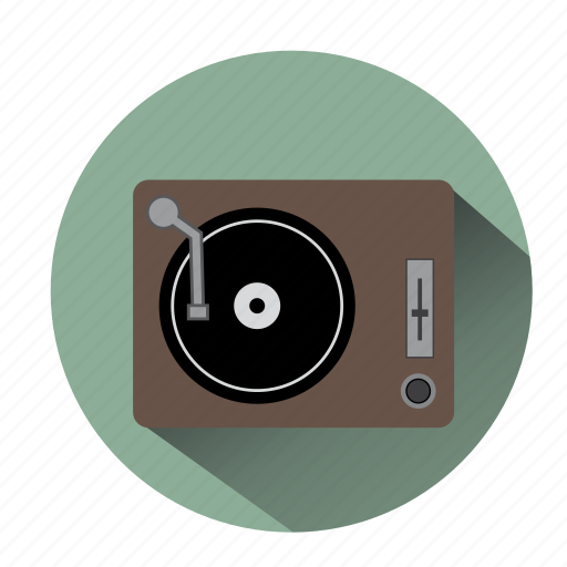 audio, deejay, dj, music, party, turntable, vinyl icon