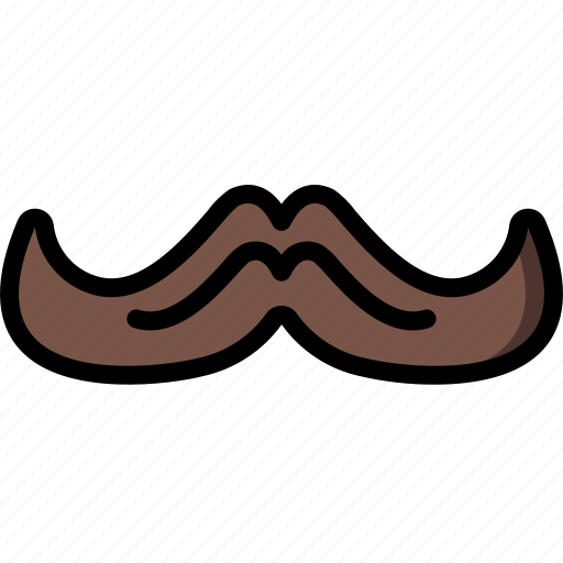 hipster, mustache, retro, style, vintage icon