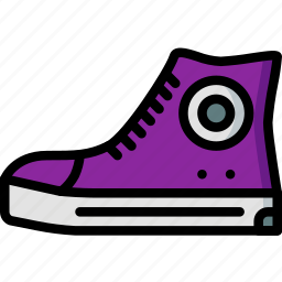 converse, hipster, retro, shoe, vintage icon