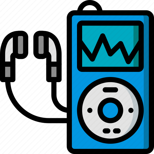 device, hipster, ipod, music, retro, vintage icon
