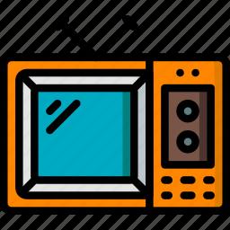 hipster, retro, tv, vintage icon