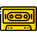 cassette, hipster, retro, tape, vintage icon