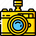 camera, film, flash, hipster, retro, vintage icon