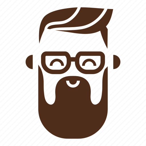 Beard, glasses, hipster, man, moustache, avatar, face icon - Download on Iconfinder