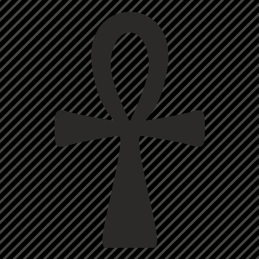 ancient, cross, religion, sign icon