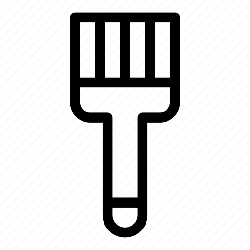 brush, clean, cleaning, dust, furniture and household, tool icon