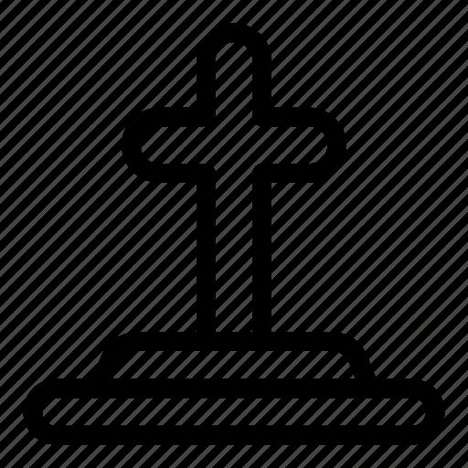 cemetery, cultures, death, funeral, grave, religion, rip icon