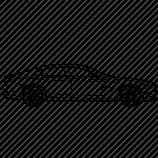 auto, bmw, car, concept, cs icon