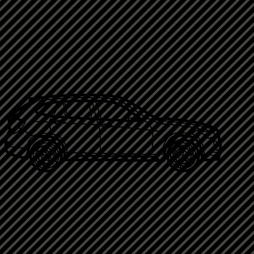 auto, bmw, car, x1 icon
