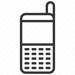 cell, communication, connection, history, mobile, phone, telephone icon