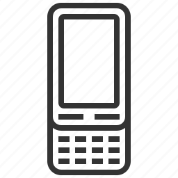 communication, connection, history, mobile, phone, slide, telephone icon
