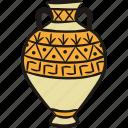 history, antiquity, vase, amphora