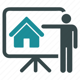 building, business, construction, home, house, project, report icon