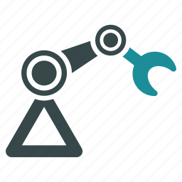 equipment, industrial robot, industry, machine, mechanical, robotics, technology icon