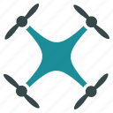 air drone, flying drone, nanocopter, quadcopter, radio control, radio control uav, unmanned aerial vehicle icon