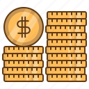coins, money, currency, finance, business