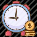 money, time, clock, finance, business