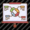 presentation, pie, chart, diagram, business