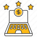 finance, laptop, online, banking, business