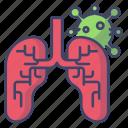 corona, virus, lungs, infect