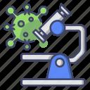 corona, virus, microscope, laboratory