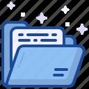 folder, file, paper, archive, document