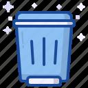 trash, recycle, bin, remove