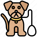 animal, dog, mammal, pet, puppy icon