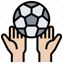 ball, football, game, play, soccer icon
