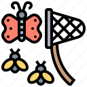 animal, bug, butterfly, insect, trap icon