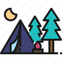 camping, travel, campfire, adventure, lifestyle