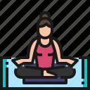 meditation, relaxation, yoga, health, lifestyle