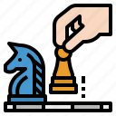 chess, game, horse, piece, sports