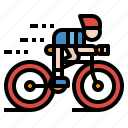 bicycle, bike, cycling, sports, transportation icon