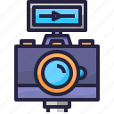 camera, photography, video, vlog icon