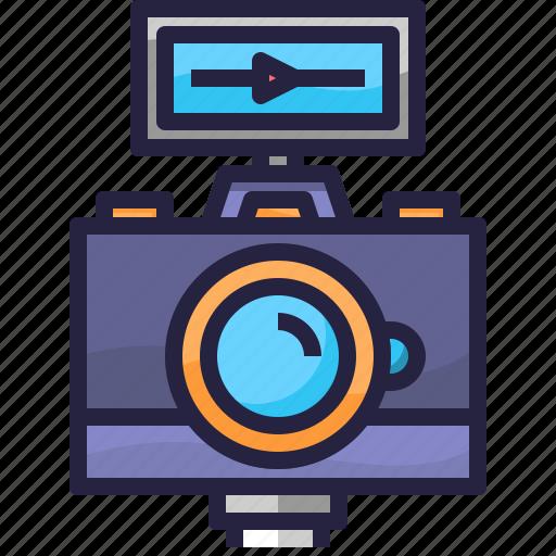 camera, photography, video, vlog icon