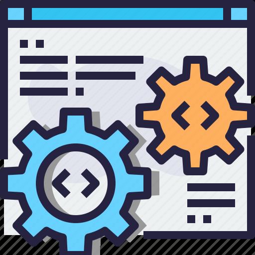 coding, develop, development, programming, software icon