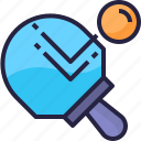 activity, ping, pong, sport icon
