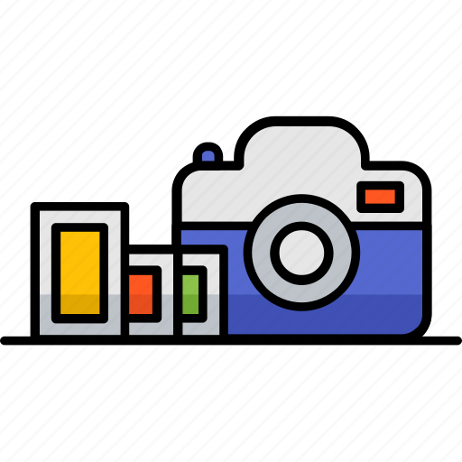 camera, capture, digital, filled, hobby, photography icon