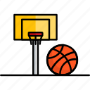 basketball, filled, game, hobby, sport icon