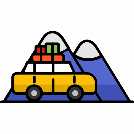 adventure, camp, filled, hobby, picnic, travel, traveling icon