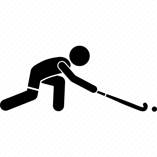 Hockey, player, playing icon - Download on Iconfinder