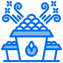 food, holiday, party, popcorn, snack icon