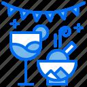 birthday, cream, drink, ice, party icon