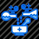 bottle, chemistry, drug, medicine, pharmacy, store, syrup icon