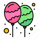 balloon, celebrate, decoration, holi, party