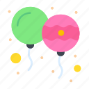 balloon, decoration, holi, india