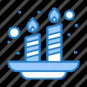 candles, holi, india, light